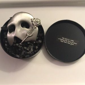 VNTG Phantom of the Opera Stainless Steel Pin